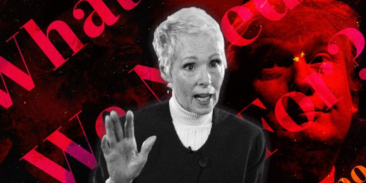 Is E. Jean Carroll credible or is she playing the Trump card?