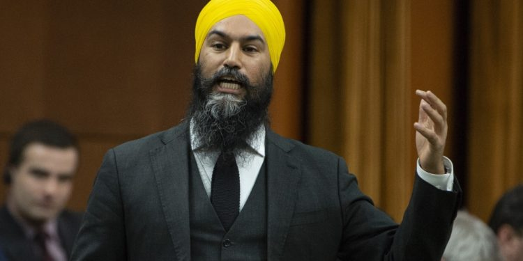 """WATCH: NDP leader Jagmeet Singh calls Trudeau's brownface photo """"insulting"""""""