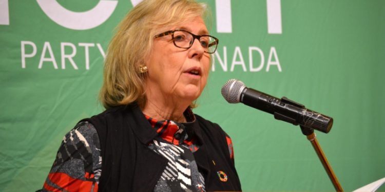 Green Party calls for use of Alberta Oil—but there's a catch.