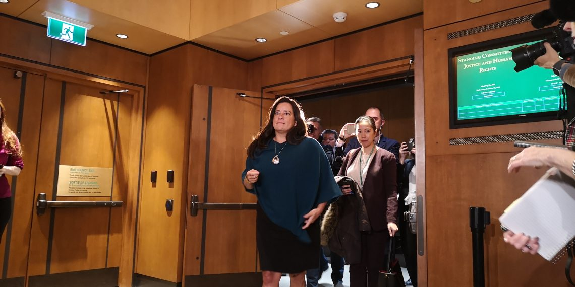 Wilson-Raybould recorded conversation while facing pressure over SNC-Lavalin