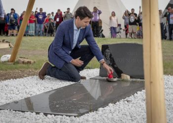Sorry, Chief Poundmaker: Trudeau's apology anthology builds in Saskatchewan