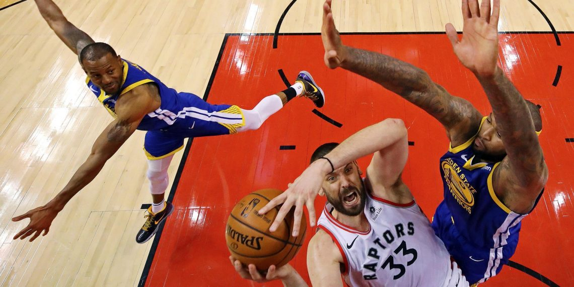 NBA report concedes ref missed potential game-changing call on Raptors' Marc Gasol