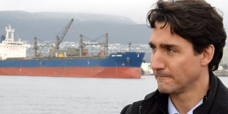 Trudeau awards part of $15.7B ship contract to company embroiled in Mark Norman leaks