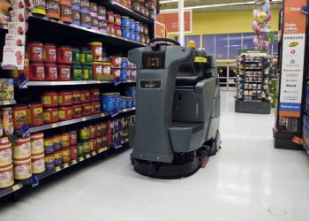 Walmart adds more robots to control labour costs