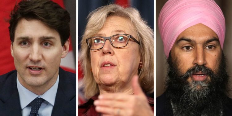 Who could be the next leaders of the Liberal, NDP or Green Party?