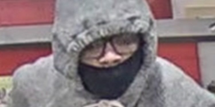 Bank robber on the loose in Southern Ontario