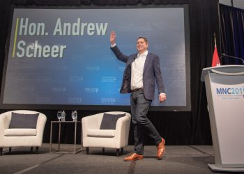 New poll shows Scheer's Conservatives up by 5%
