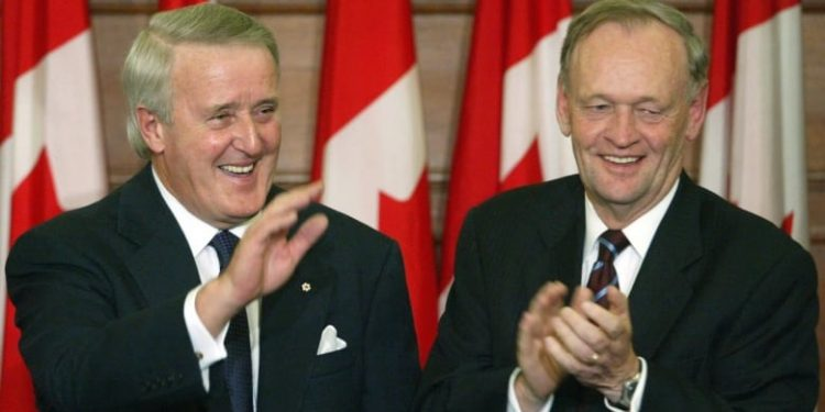 Brian Mulroney suggests sending Jean Chretien to China to negotiate release of detained Canadians