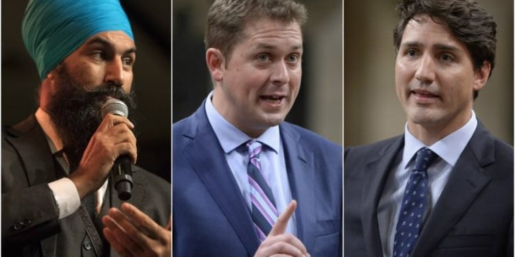 Liberal support plummets to new low: Leger poll