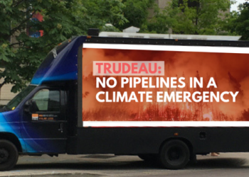Activists to troll Trudeau with jumbotron truck