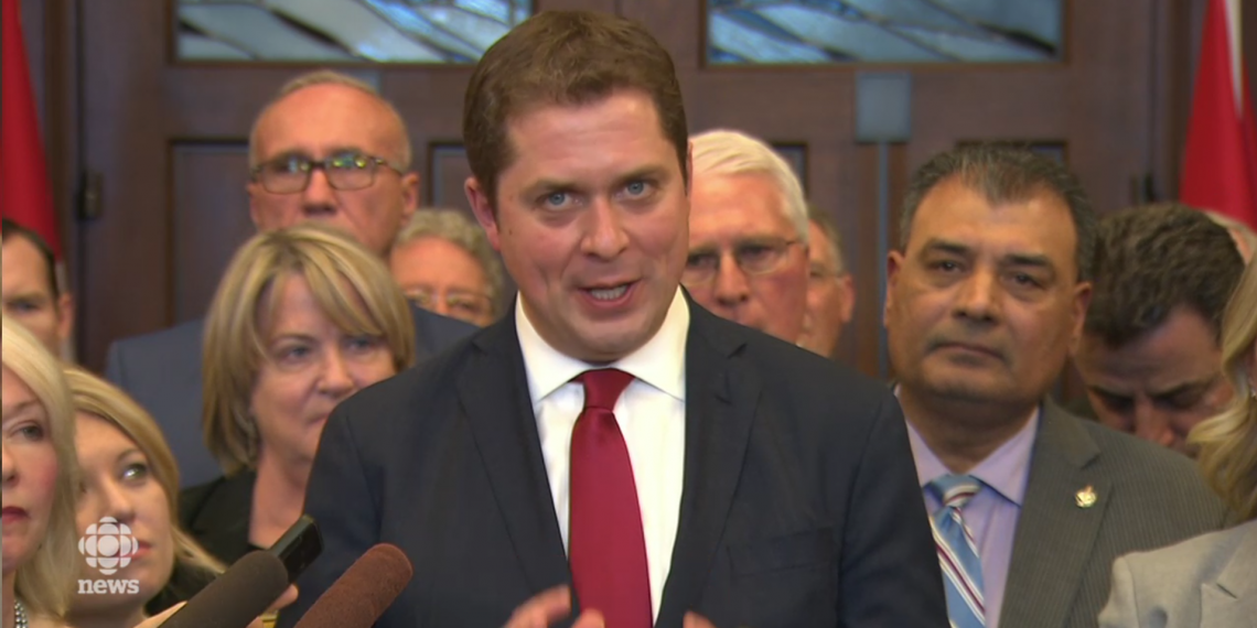 VIDEO: Conservatives in uproar over budget day meeting, storm out on Liberals