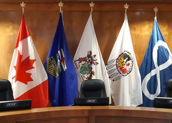 Flags of Unity: Town of Peace River permanently adds Treaty 8 and Metis flags to its chamber