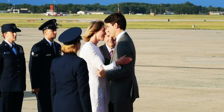 Trudeau touches down in Washington ahead of White House visit