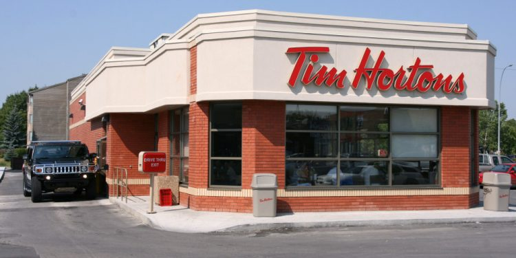 Tim Hortons CEO blames the cold for drop in sales
