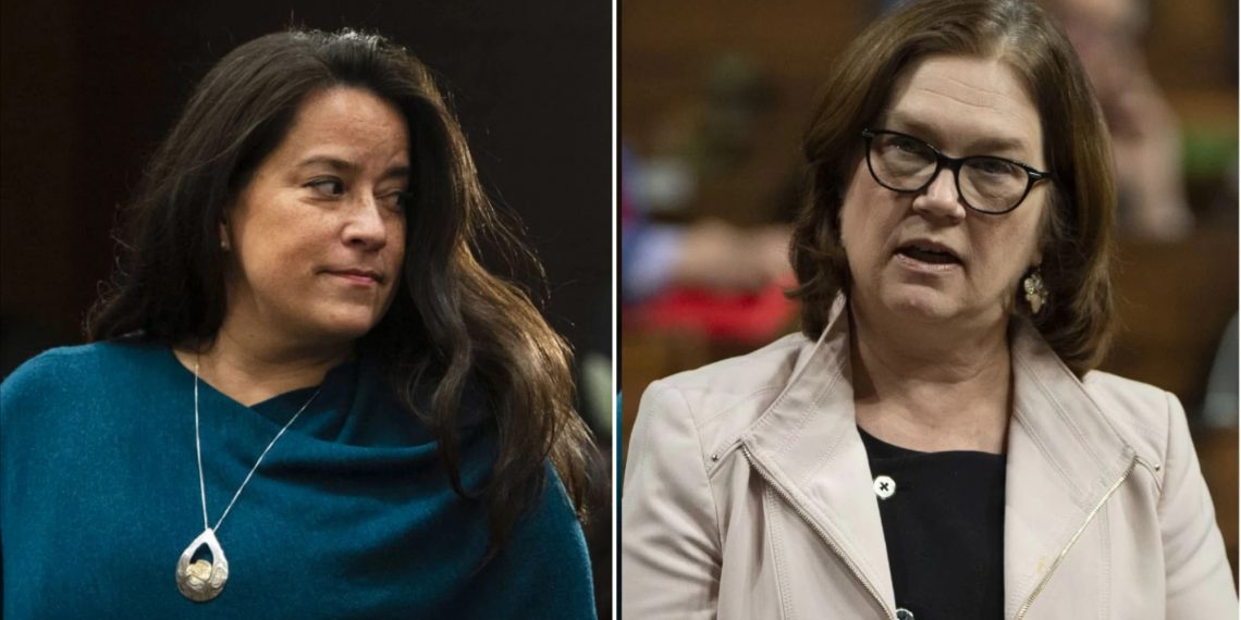 Philpott and Wilson-Raybould: too late for Justin to say sorry