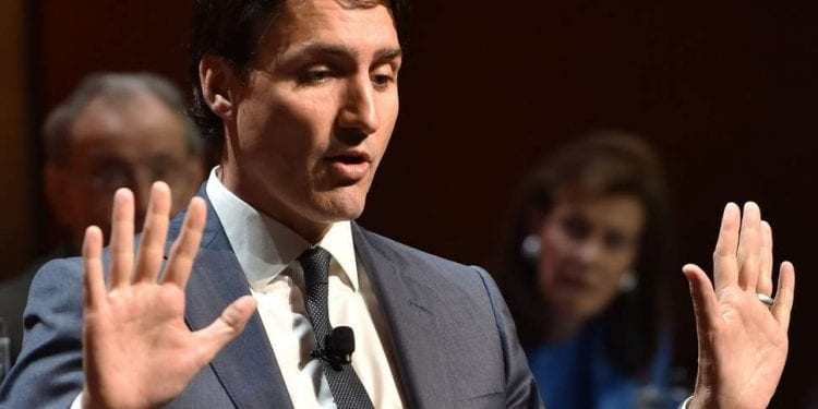 Man arrested for uttering threats at event attended by Justin Trudeau