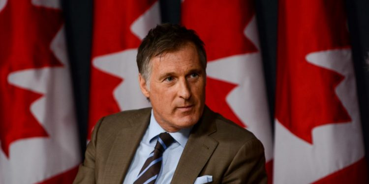 Secure the border, halve immigration intake, outlaw birth tourism: Maxime Bernier