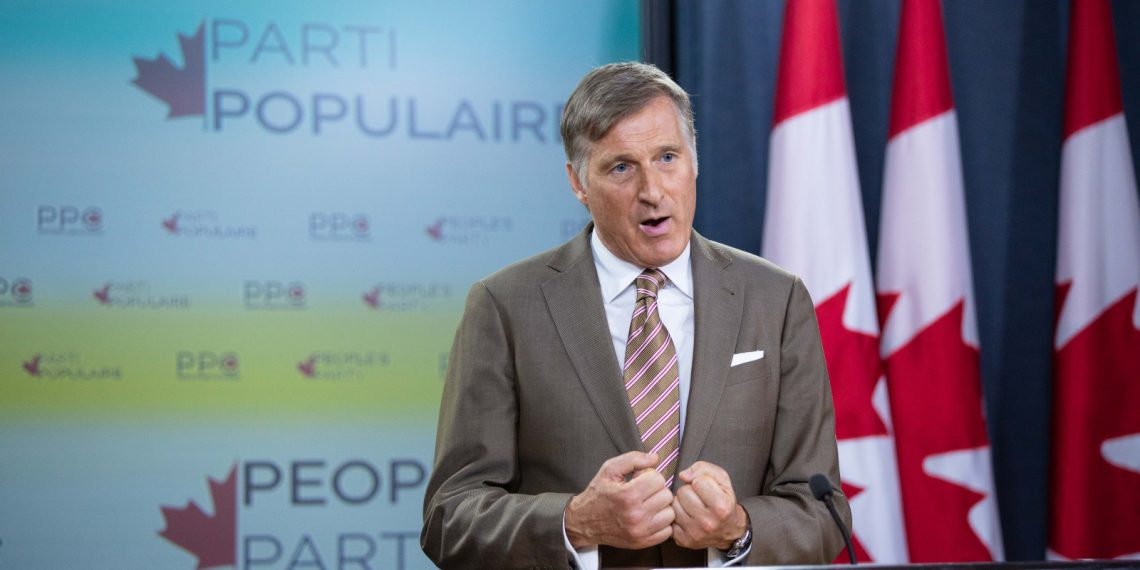 Maxime Bernier left out of official leadership debates