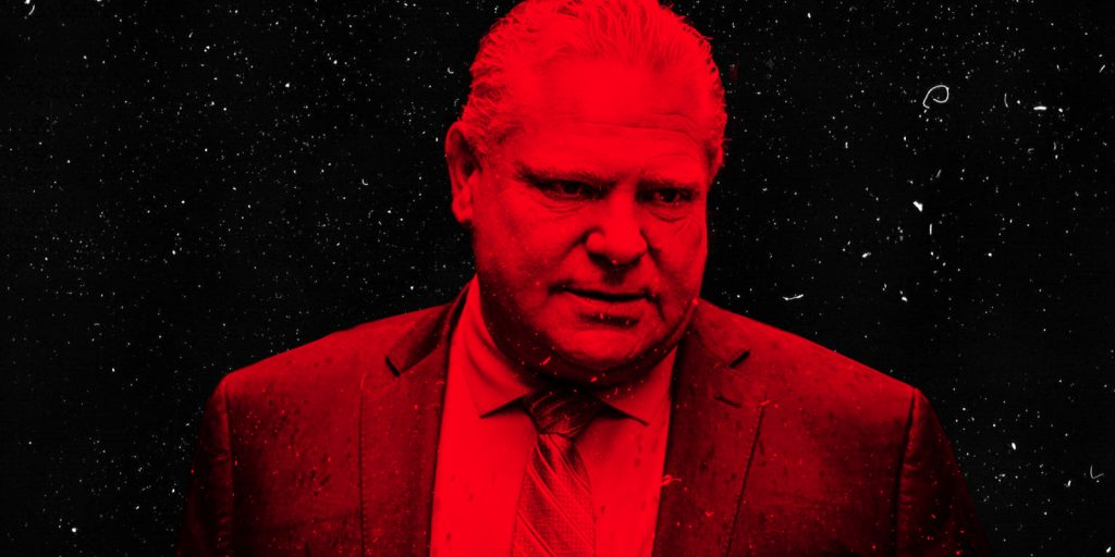 Doug Ford's self-inflicted wounds
