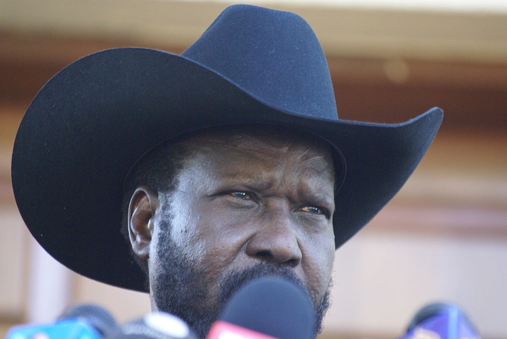 South Sudan's President banned singing of anthem unless he is literally there
