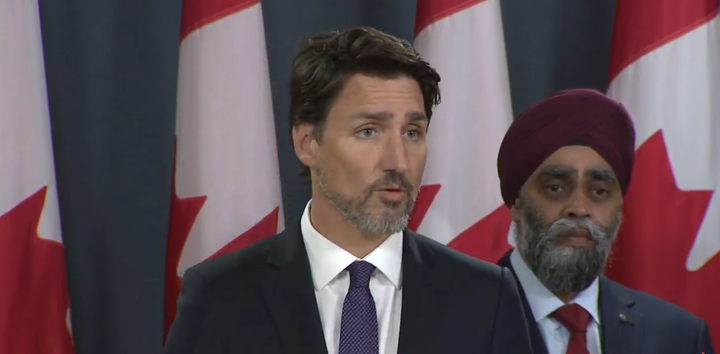 WATCH: Trudeau doesn't rule out blaming U.S. for plane shot down by Iran