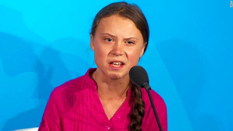 """Greta Thunberg says """"Trudeau is not doing enough"""" on climate change"""