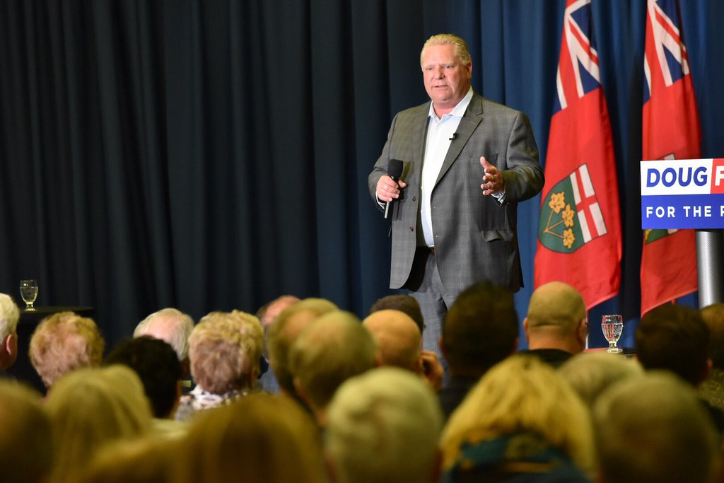 Ford announces Ontario's municipal spending budget and confirms that he's moving ahead with cuts to tackle deficit