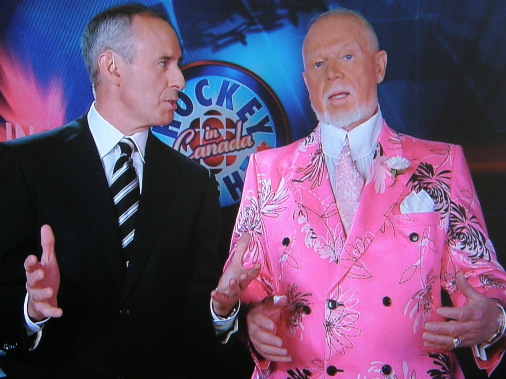 WATCH: Sign in support of Don Cherry confiscated by NHL