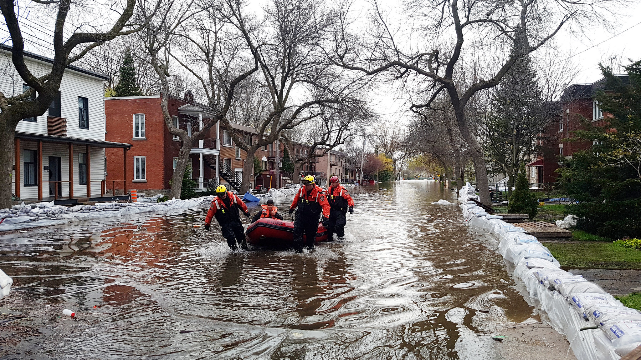 Prime Minister's Office announces $50 million investment to create largest Montreal park and address flood concerns