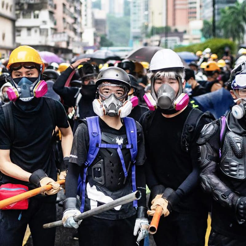 The Hong Kong Protesters