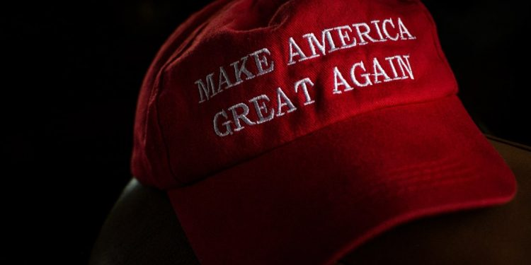 Progressive writer gives friend a MAGA hat ultimatum—friend wisely chooses hat