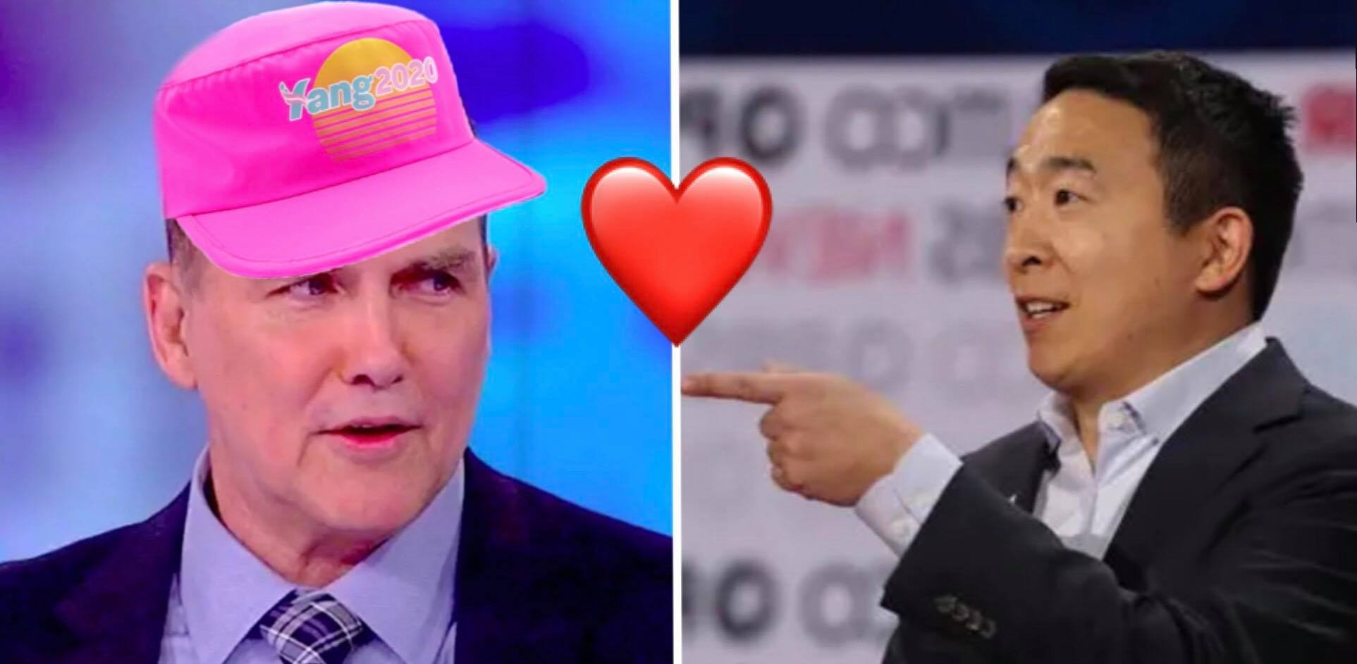 Does Norm Macdonald love Andrew Yang? It's complicated