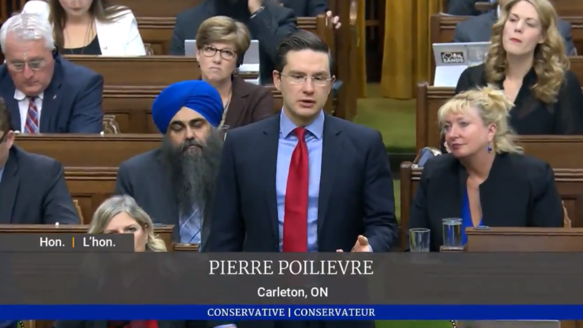 Pierre Poilievre says he supports gay marriage, won't open abortion debate