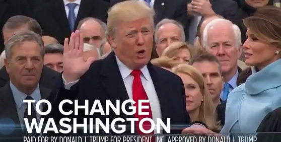 WATCH: 'He's no Mr. Nice Guy', Trump reelection ad airs during World Series