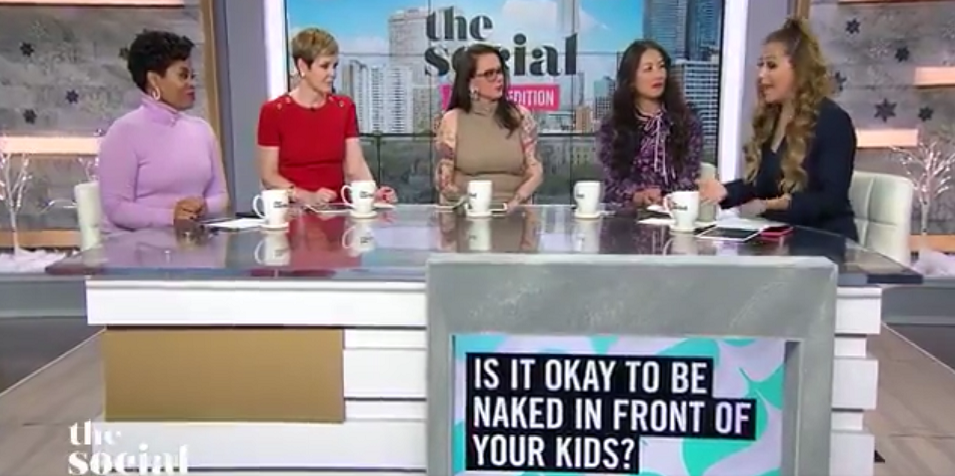 CTV's The Social is missing the point behind sheltering children from nudity