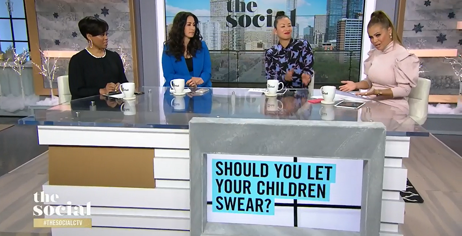 CTV's The Social host argues kids can benefit from swearing