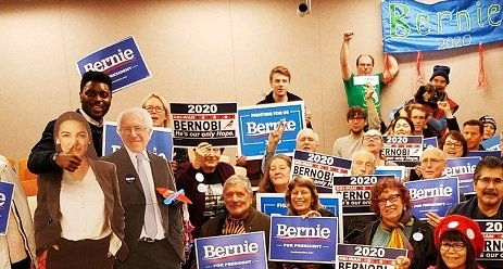 Bernie Sanders' campaign rife with left-wing radical volunteers, and here's yet another one on the team.