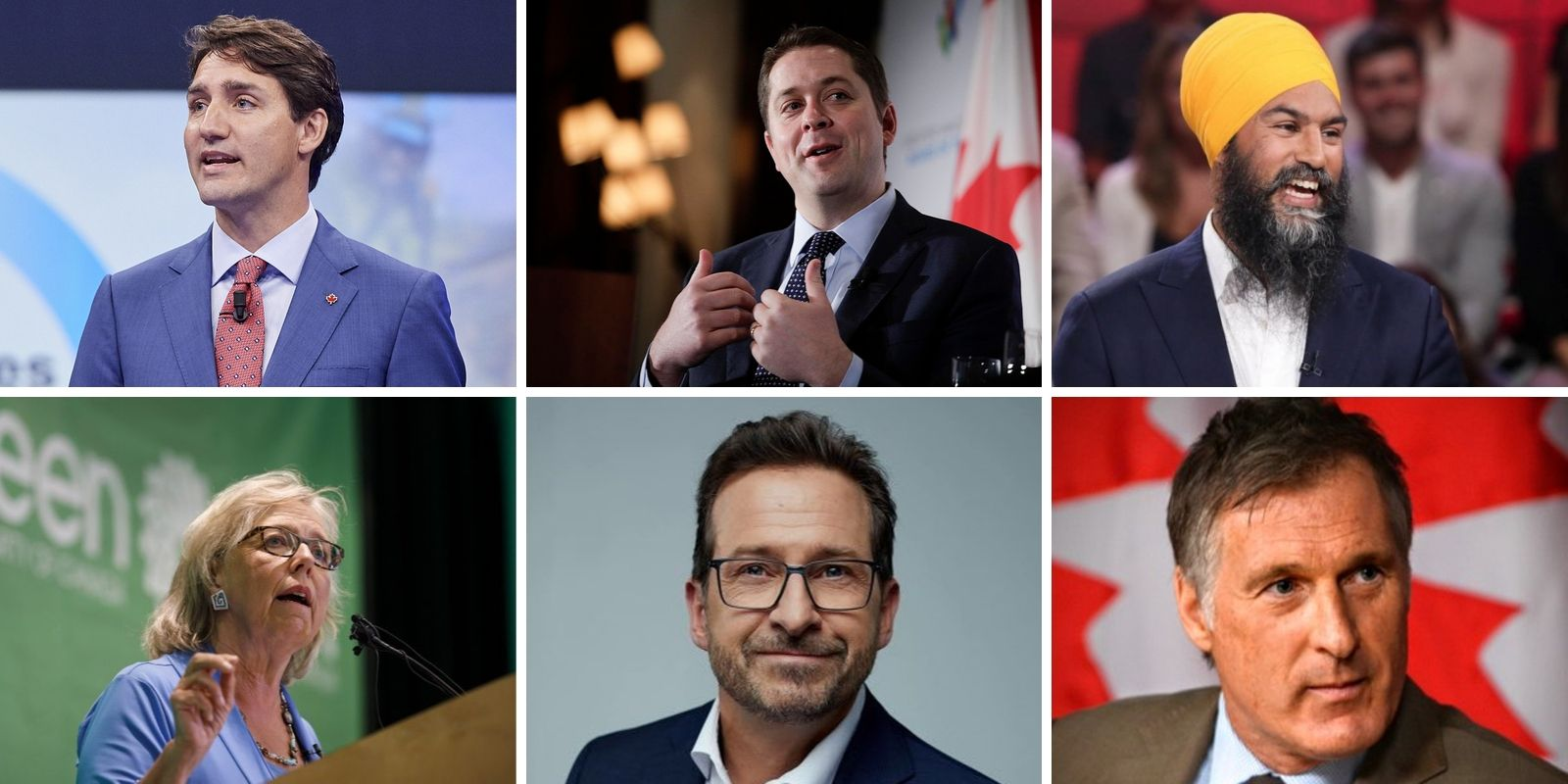 WATCH: All the Canadian leaders running in the 2019 election explained
