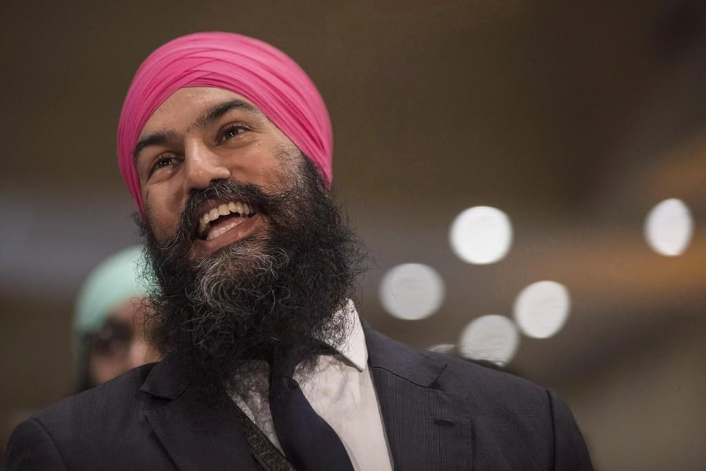 The NDP are broke and Jagmeet Singh has only been to one fundraiser in 2019