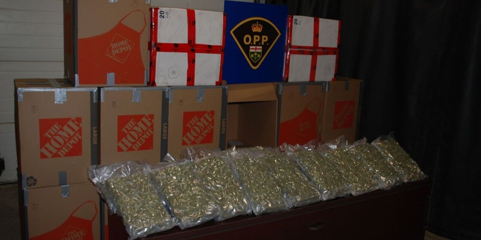 Traffic stop leads to police  seizure of nearly two million dollars in illegal cannabis