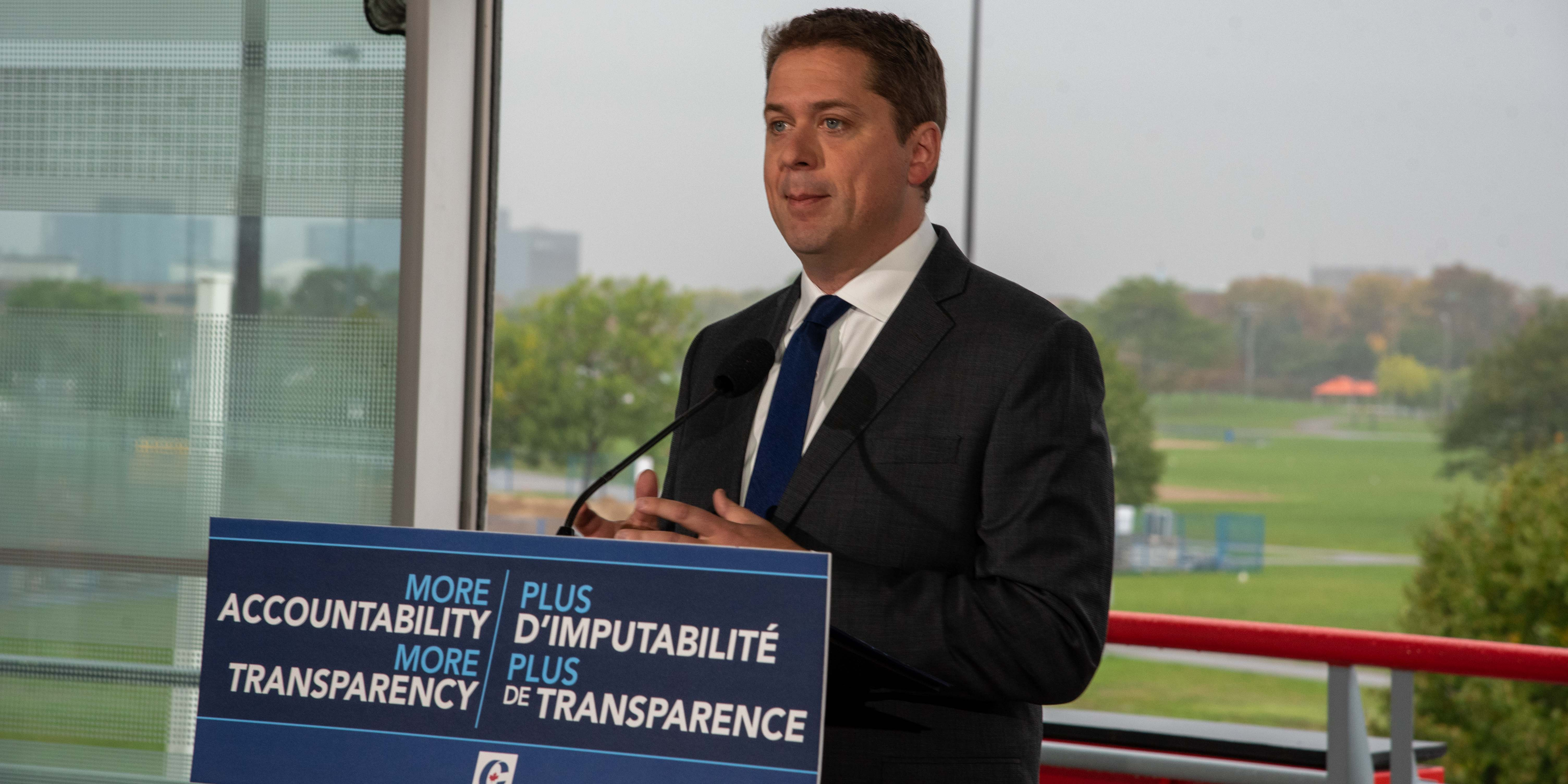 Scheer promises to launch inquiry into SNC-Lavalin if elected