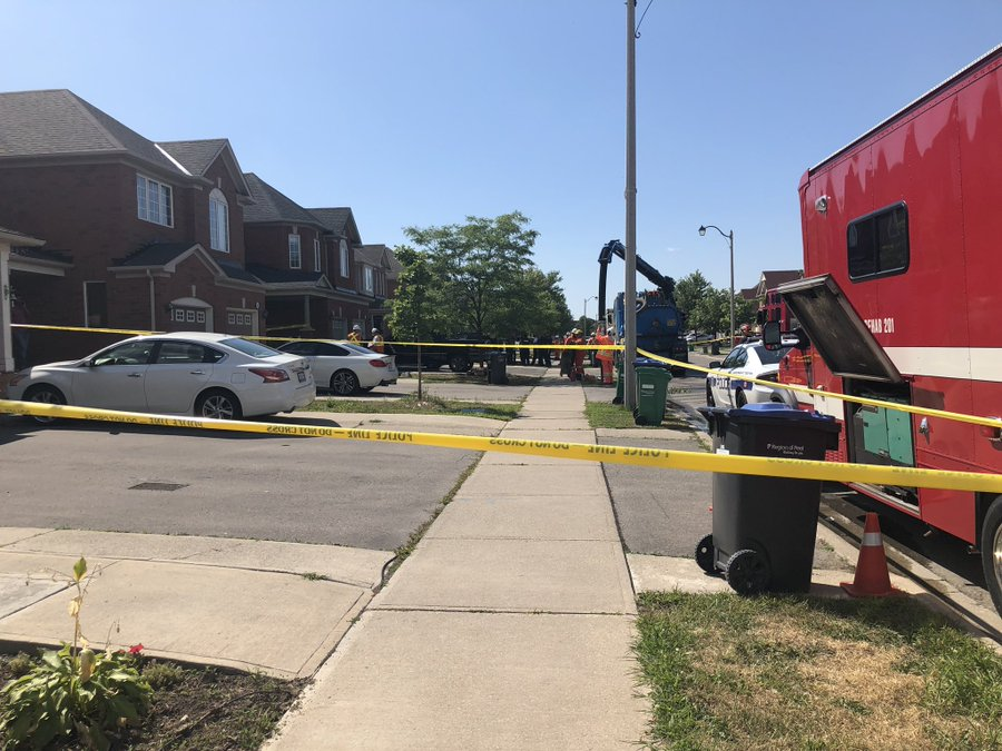 Alcohol-producing still causes Brampton explosion that injures four, including one-year-old child
