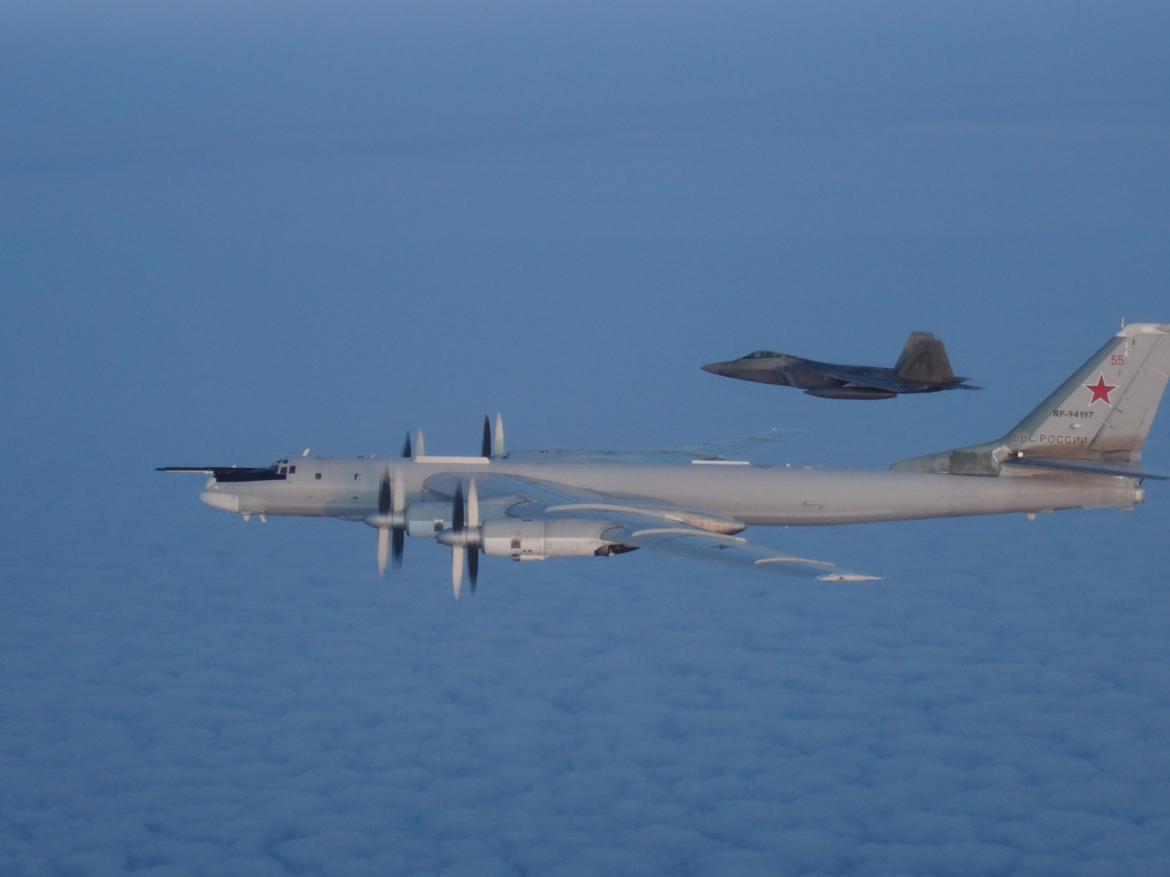 Canadian fighter jets intercept two Russian bombers
