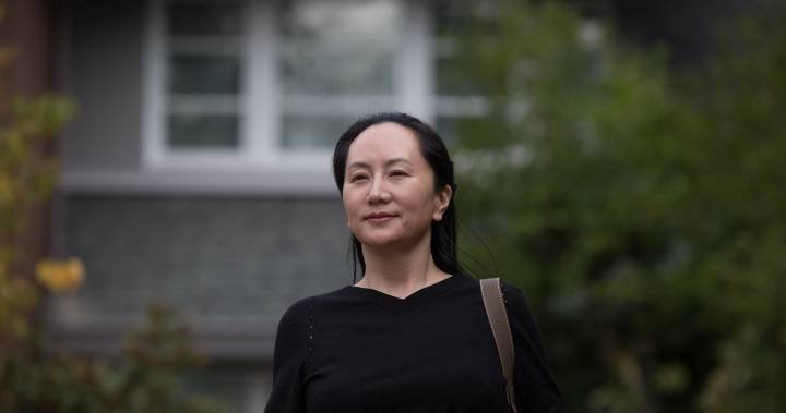 Huawei CFO says she's endured 'fear and pain' during house arrest in B.C.