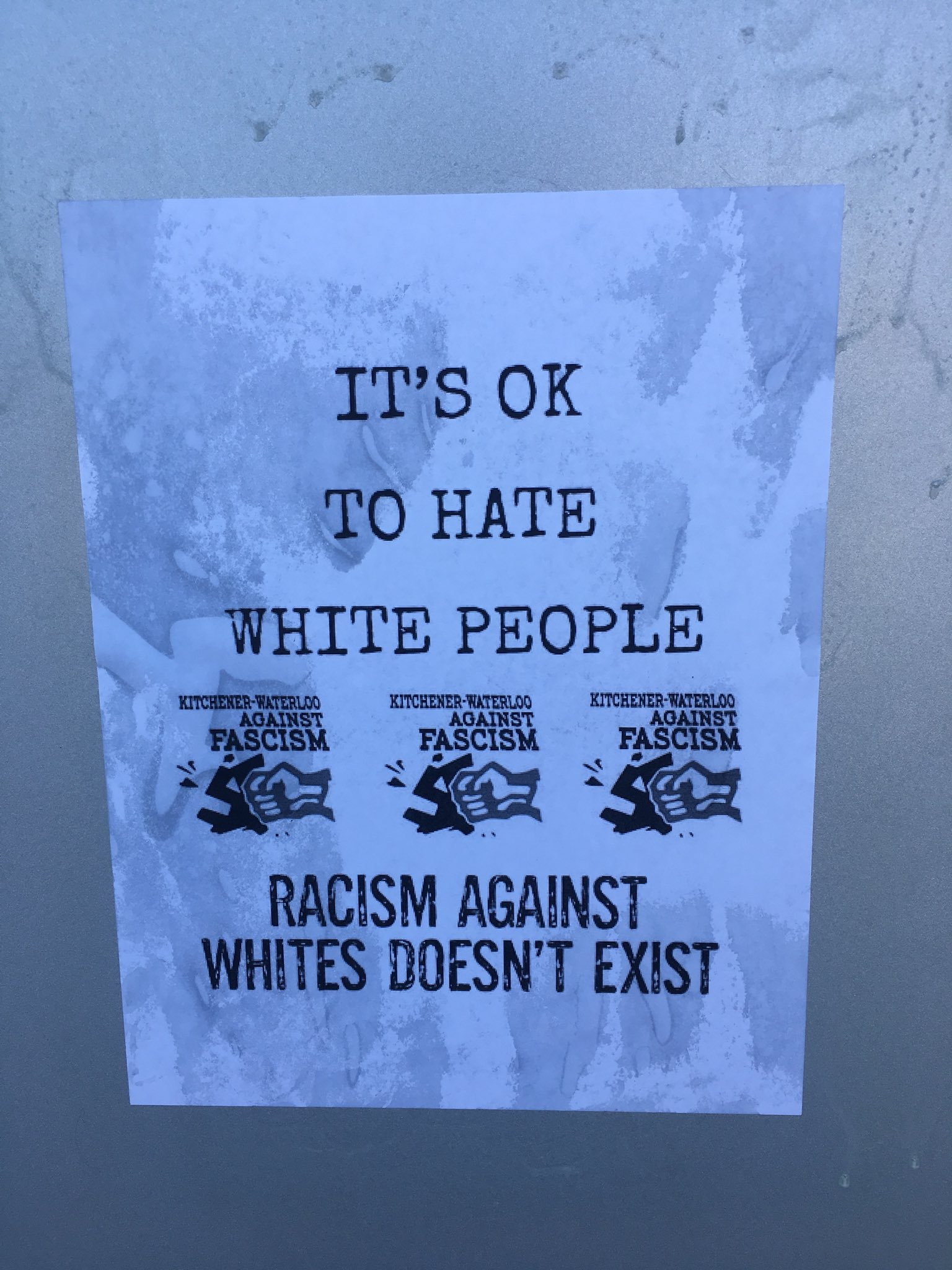 'White lives don't matter' signs appear in Ontario, antifascist group denies wrongdoing