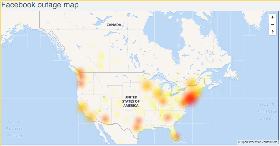 It's not just you—Facebook is down