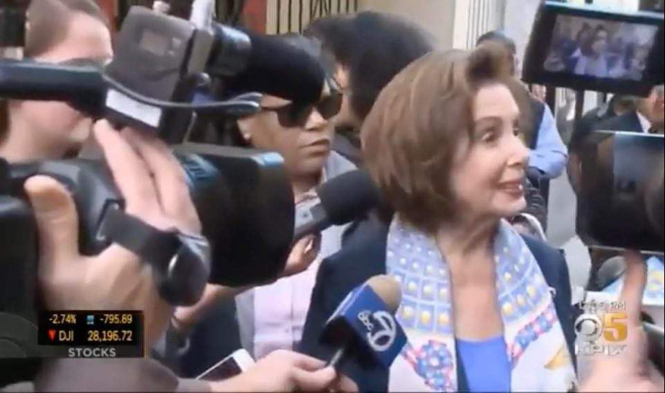WATCH: Nancy Pelosi urged people to congregate in Chinatown in late February