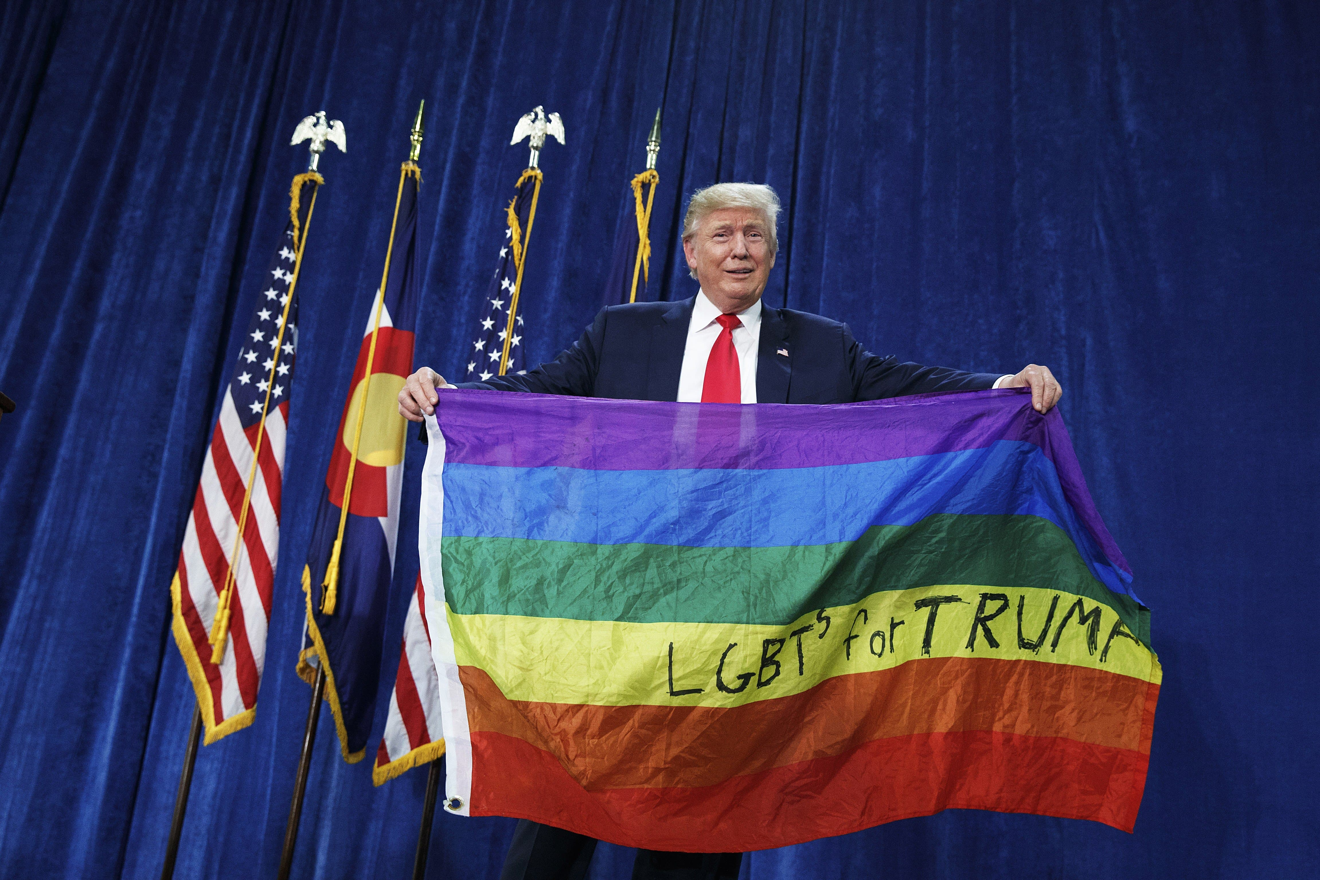 Trump is objectively the most pro-gay president in history