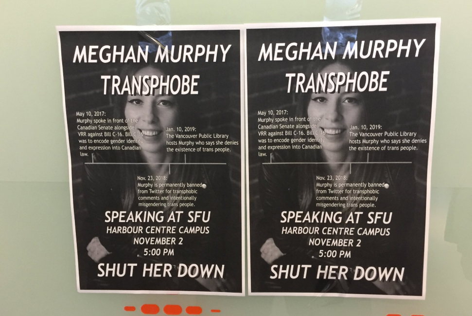 Protests and controversy brew ahead of Vancouver Meghan Murphy talk
