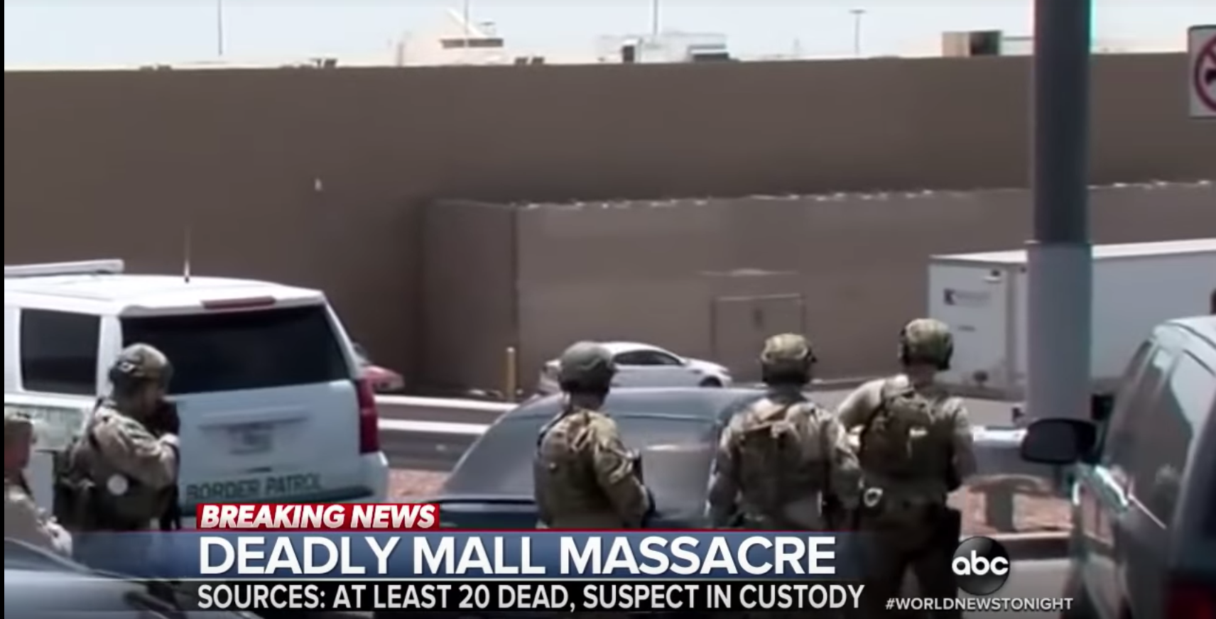 El Paso shooter likely to be deemed domestic terrorist following discovery of racist manifesto